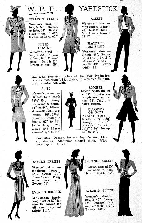 Fashion Flashback Wwii Women S Fashion: New Page 1 [cs.stanford.edu]