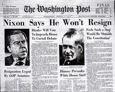 Watergate scandal essay