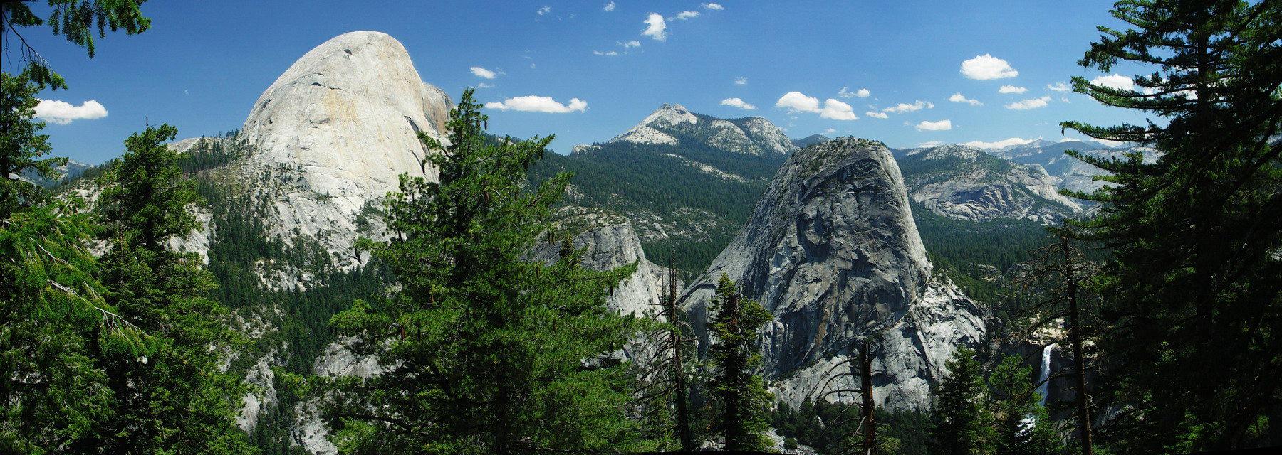 Yosemite Panorama Pictures